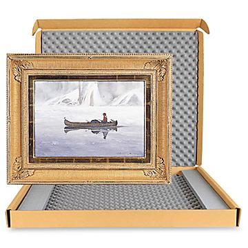 Emballages d'expédition de luxe pour œuvres d'art