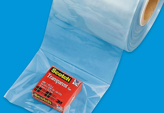 Uline Película Termoencogible Tubular