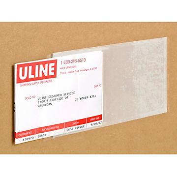 Enveloppes de bordereau d'expédition à bout ouvert (style IBM)