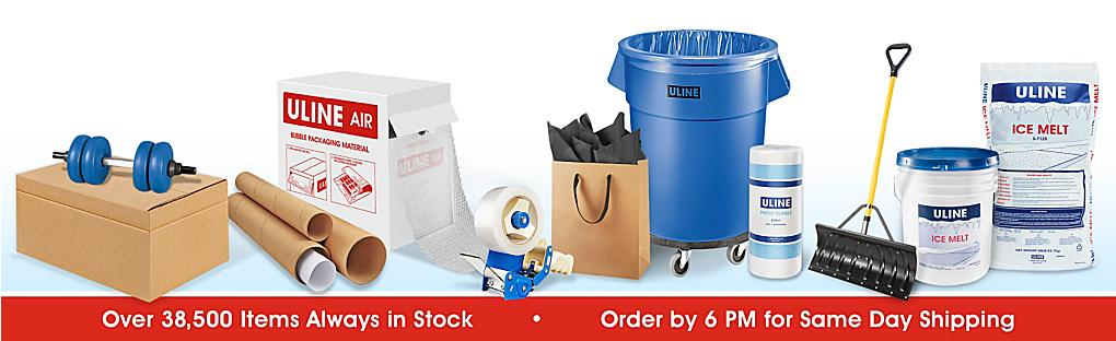 Over 32,500 Products Always in Stock, Order by 6PM for Same Day Shipping