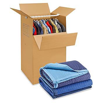 Boîtes et fournitures<br> de déménagement