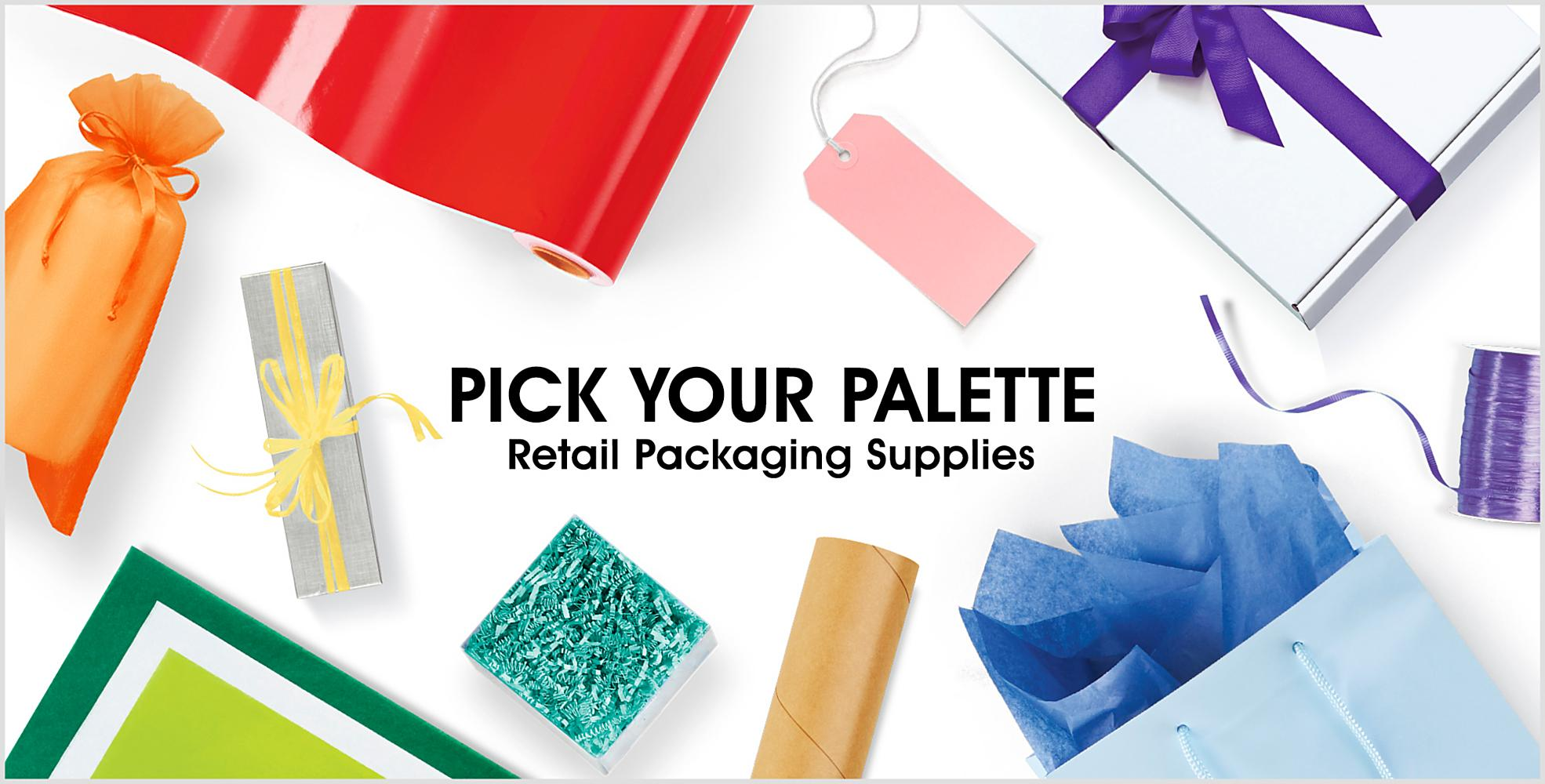 Pick Your Palette - Retail Packaging Supplies
