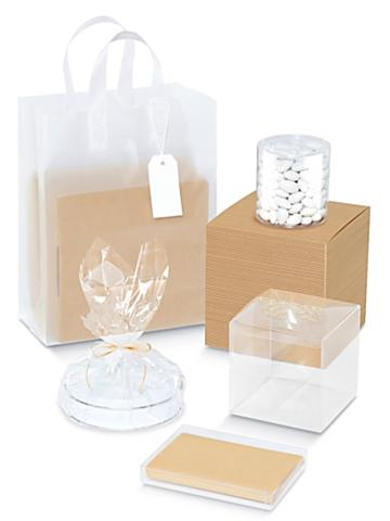 Clear Gift Boxes and Bags