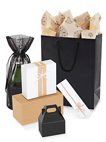 Neutral Gift Boxes and Bags