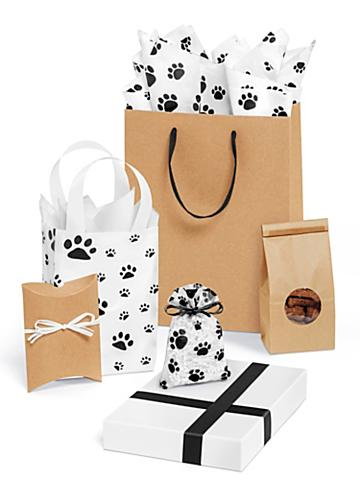 Pawprint Gift Boxes and Bags