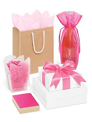Pink Gift Boxes and Bags
