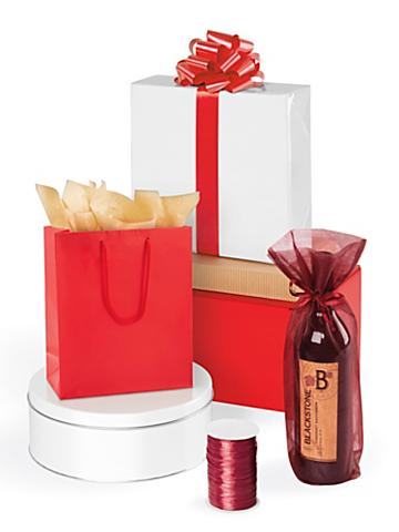 Red Gift Boxes and Bags