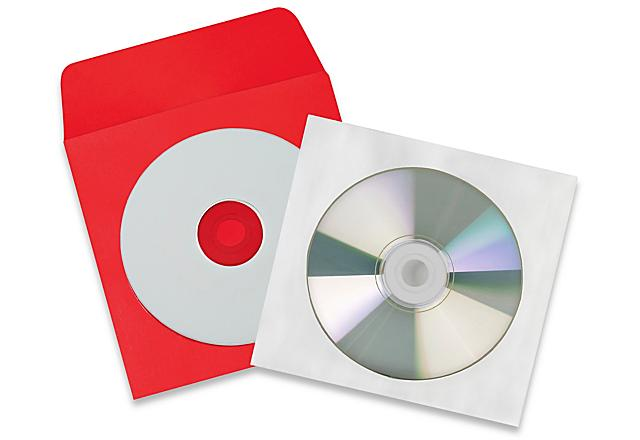 CD Envelopes and Sleeves
