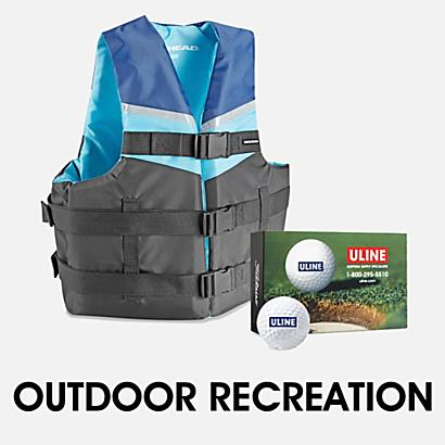 Outdoor Recreation and Fitness - $300 or more