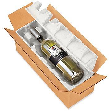 Emballages d'expédition et fournitures pour vin