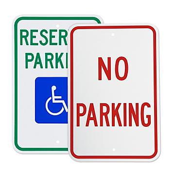Enseignes pour le stationnement et la circulation