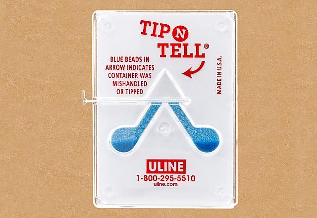 Tip-N-Tell Indicators
