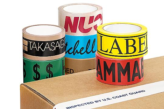 Custom Printed Carton Sealing Tape