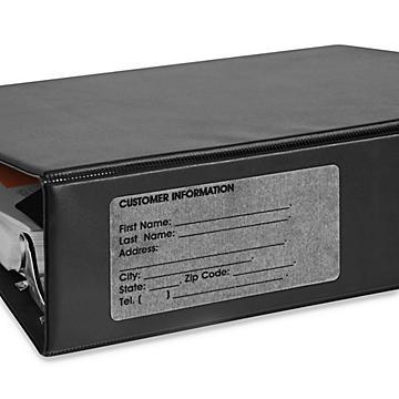 Uline Clear Laser Labels