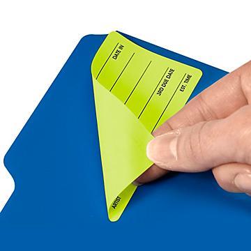 Fluorescent Removable Laser Labels