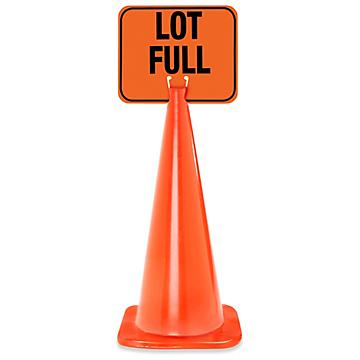 Traffic Cone Signs