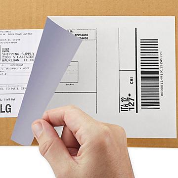 Blockout Laser Labels