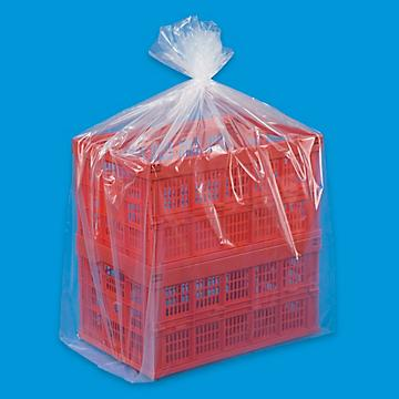 Uline 2 Mil Gusseted Poly Bags