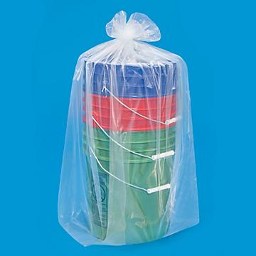 Uline 3 Mil Gusseted Poly Bags