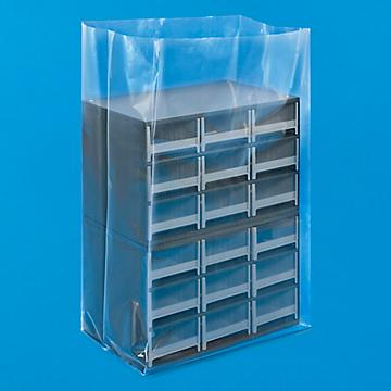 Uline 4 Mil Gusseted Poly Bags