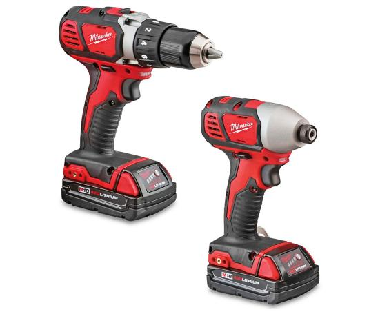 Drill and Impact Driver Kit