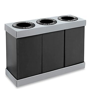 Corrugated Plastic Trash Cans