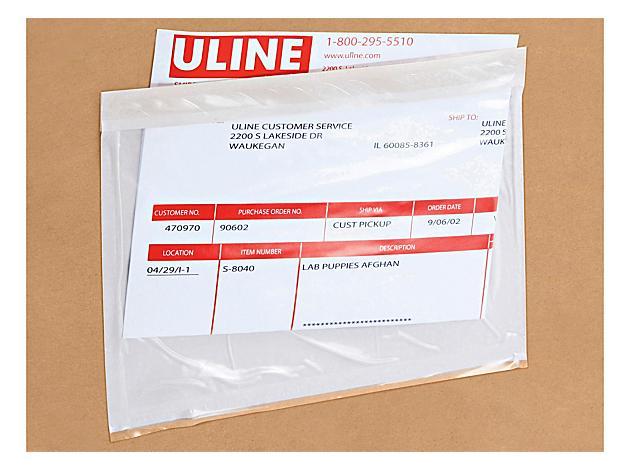 Top Loading Packing List Envelopes