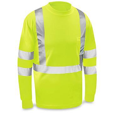 Class 3 Hi-Vis Long Sleeve T-Shirt