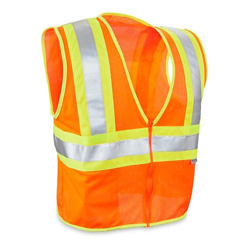 Class 2 Deluxe Hi-Vis Safety Vests