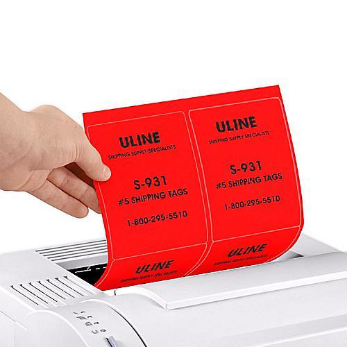 Uline True Color Laser Labels