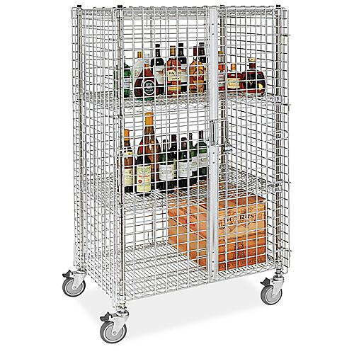 Stainless Steel Security Carts