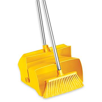 Colored Dust Pans and Brooms