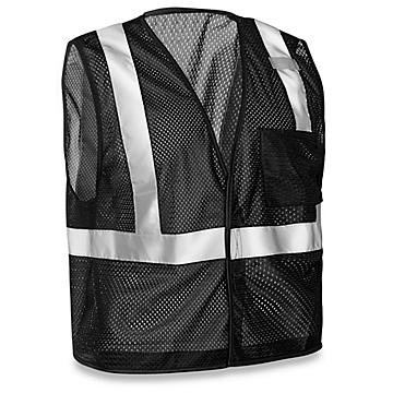 Black Hi-Vis Clothing