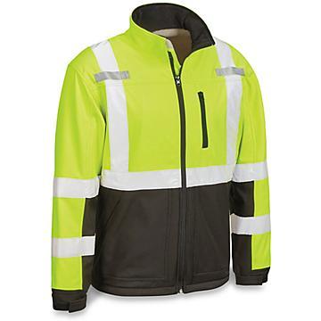 Class 3 Hi-Vis Soft Shell Jacket