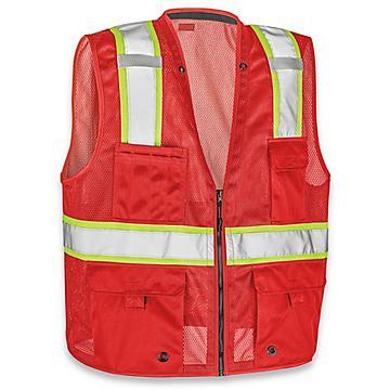 Colored Hi-Vis Safety Vests