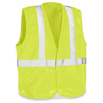 Solid Hi-Vis Safety Vest