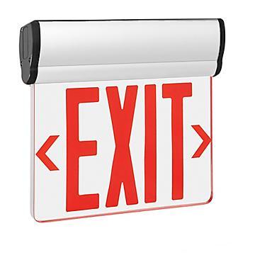 Edge-Lit Acrylic Exit Signs