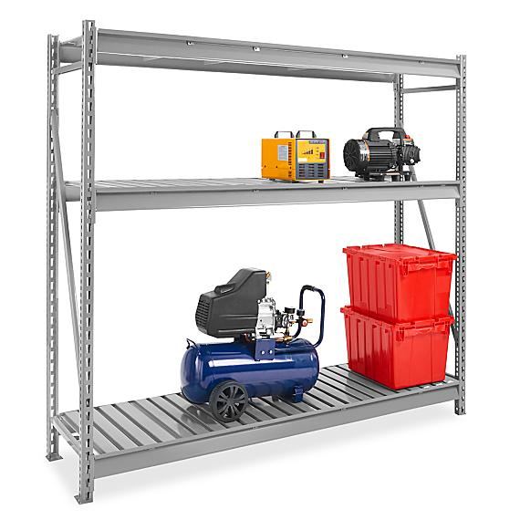 Bulk Storage Racks - Steel Decking
