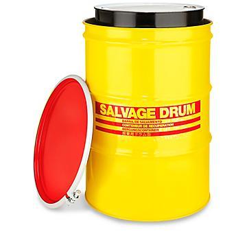 Steel Salvage Drum