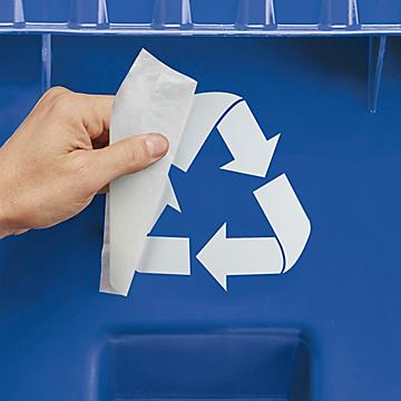 Recycling Label Decals