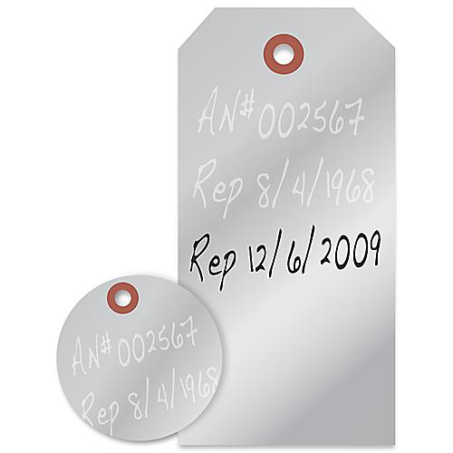 Embossable Tags