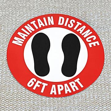 Anti-Slip Carpet Signs