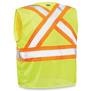 X-Back Hi-Vis Safety Vest