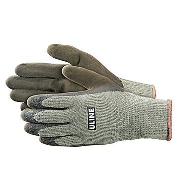 Uline Super Gription® Thermal Latex Coated Gloves