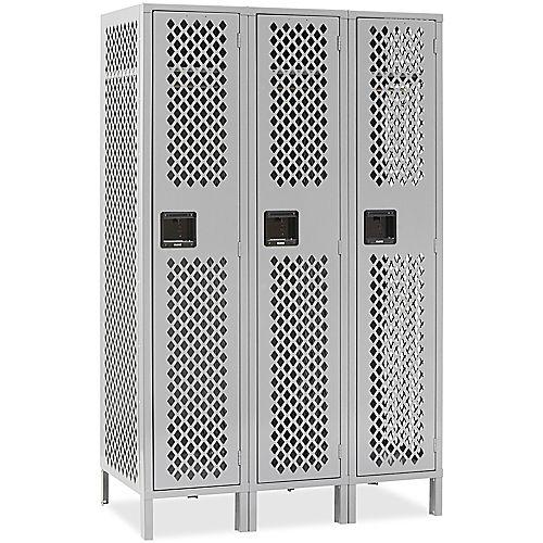 Ventilated Single Tier Lockers
