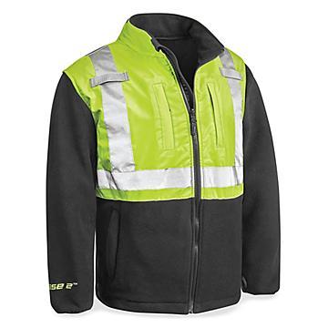 Class 2 Hi-Vis Fleece Jacket