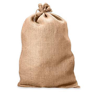 Burlap Bags with Tie