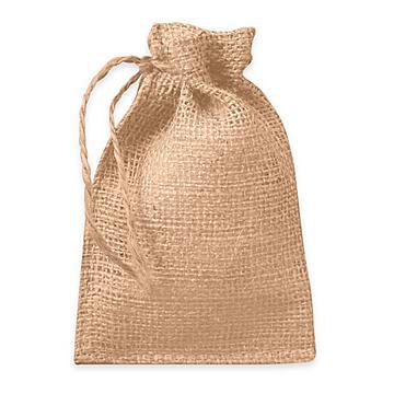Burlap Bags with Drawstrings