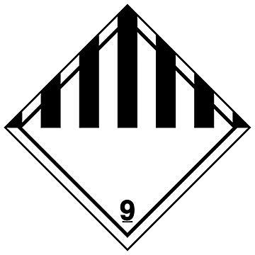 Hazard Class 9 D.O.T. Labels