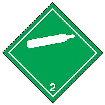 Hazard Class 2 International Labels